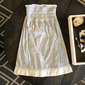 AERIE Super soft strapless dress/coverup!
